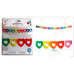 Guilnalda Multicolor Corazones