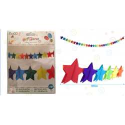 Guirnalda Multicolor Estrellas