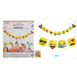 Guirnalda Emoticonos