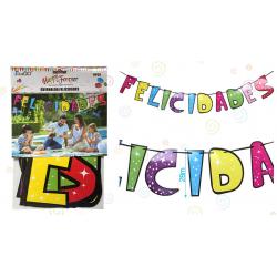 Guirnalda 'Felicidades' Extra Grande