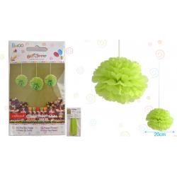"Flor 8"" Verde Manzana"