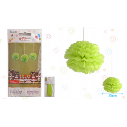 "Flor 10"" Verde Manzana"
