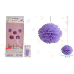 "Flor 12"" Violeta"