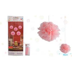 """Flor 16"""" Rosa Pastel"""