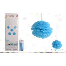 """flor 16"""" Azul Celeste"""