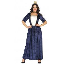 Disfraz de dama medieval adulta. Vestido de princesa del renacimiento