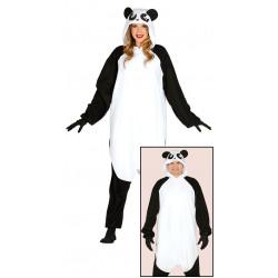 Disfraz pijama de panda para mujer y hombre
