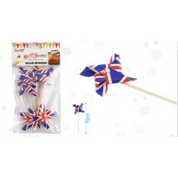 Palillos Decorativos Bandera