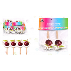 Pincho Decorativo Cereza