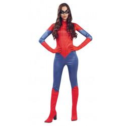 Disfraz de superheroína adulta. Disfraz de Spiderman para mujer