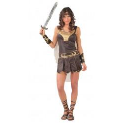 Disfraz de tracia adulta. Disfraz de gladiadora.