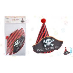 Gorro Pirata Para Fiesta