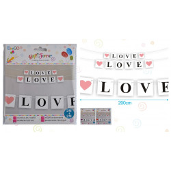 Guirnalda 'Love'