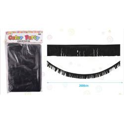 Flecos de Plástico Negros