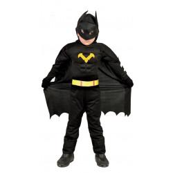 Disfraz de Black Hero Infantil. Traje de Batman para niño