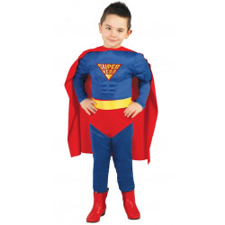 Disfraz de Muscle Hero Infantil. Disfraz de Superman para niño
