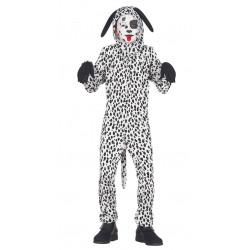 Disfraz de Perrito Dálmata infantil. Pijama 101 Dálmatas para niño