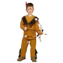 Disfraz de indio infantil. Disfraz de nativo americano para niño