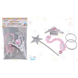Set  4 accesorios de Princesa