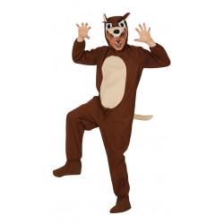 Disfraz de lobo del bosque infantil. Pijama de lobo feroz para niño