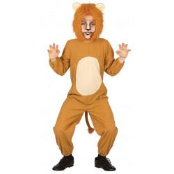 Disfraz de león infantil. Disfraz de rey leon para niño