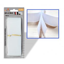 Velcro para Costura 5.0x30 Blanco