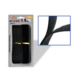 Velcro para Costura 2.5x80cms Negro