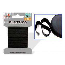 Elástico 3x100cms Negro