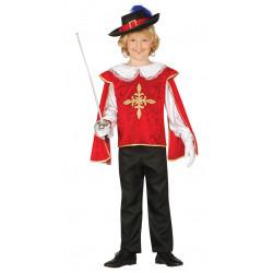 Disfraz de mosquetero infantil. Traje de D'Artagnan mosquetero para niño