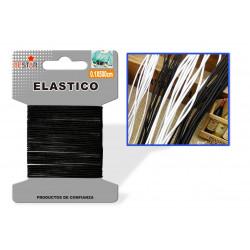 Elástico 0.1x500cm Negro