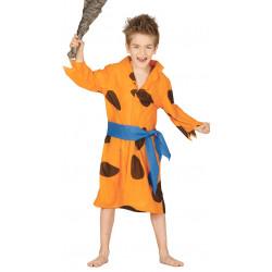 Disfraz de cavernícola infantil. Disfraz de Pedro Picapiedra para niño