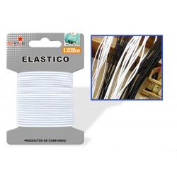Elástico 0.3x300cms Blanco