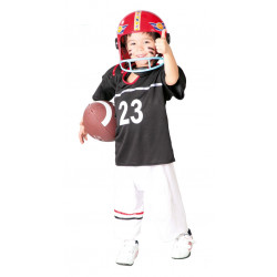 Disfraz de Quarterback infantil. Disfraz de jugador de rugby para niño