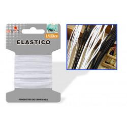 Elástico 0.1x500cms Blanco