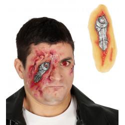 Cicatriz ojo biónico látex