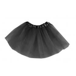 Tutú Infantil Negro - Falda de Tul 30cm