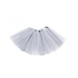 Tutú Infantil Gris - Falda de Tul 30cm