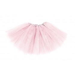 Tutú para adulto, color rosa palo - Falda de Tul 40cm