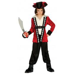 Disfraz de Pirata infantil . Traje de pirata para niño.