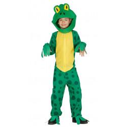Disfraz de Rana infantil . traje de rana para niño.