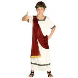 Disfraz de César infantil . traje de romano para niño.