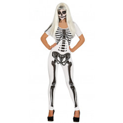 Disfraz Girl skeleton Adulto