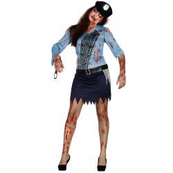 Disfraz Policía zombie Adulto