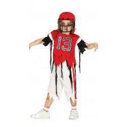 Disfraz Quaterback zombie Infantil