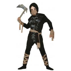 Disfraz Ninja esqueleto Infantil