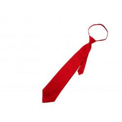 Corbata Lisa Adulto Rojo