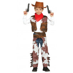 Disfraz de cowboy infantil. Disfraz de vaquero texano para niño