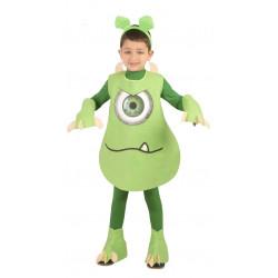 Monstruo verde infantil