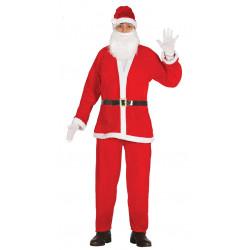 Papá Noel terciopelo adulto