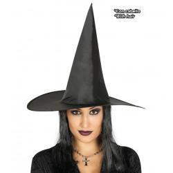 Sombrero bruja con pelo